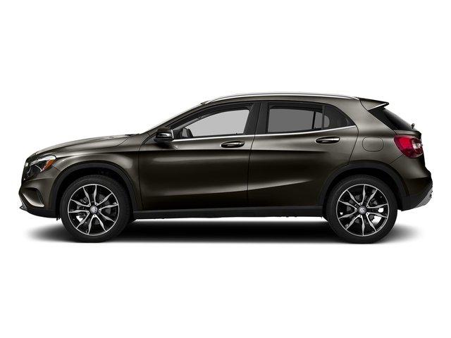 Cocoa Brown Metallic 2017 Mercedes-Benz GLA Pictures GLA GLA 250 4MATIC SUV photos side view