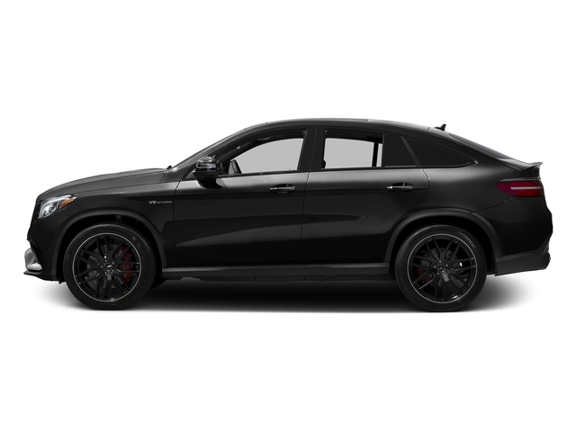 Obsidian Black Metallic 2017 Mercedes-Benz GLE Pictures GLE AMG GLE 63 S 4MATIC Coupe photos side view
