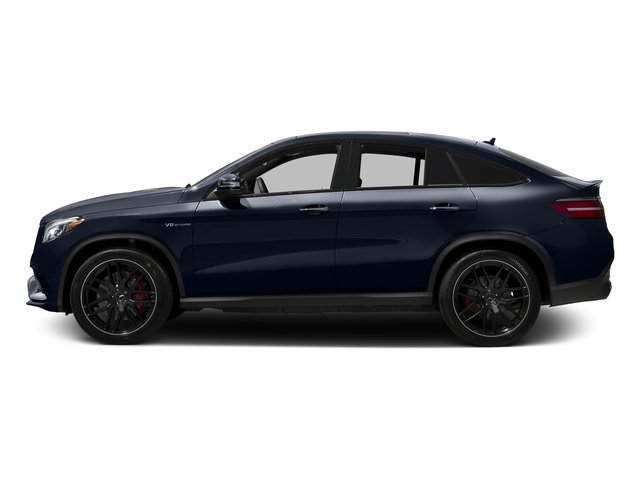 Lunar Blue Metallic 2017 Mercedes-Benz GLE Pictures GLE AMG GLE 63 S 4MATIC Coupe photos side view