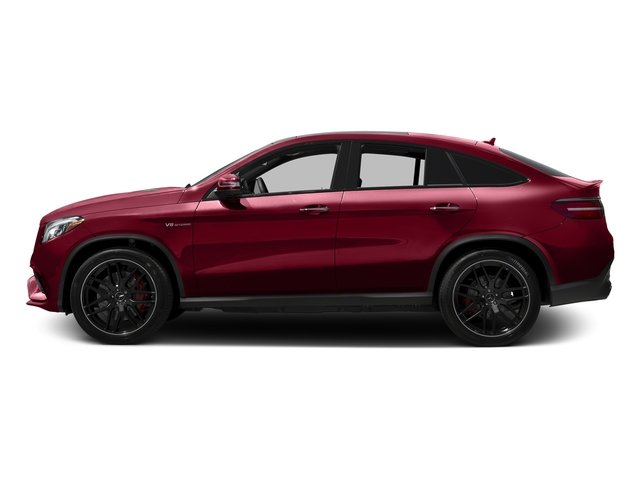 designo Cardinal Red Metallic 2017 Mercedes-Benz GLE Pictures GLE AMG GLE 63 S 4MATIC Coupe photos side view