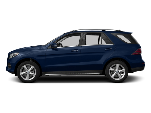 Brilliant Blue Metallic 2017 Mercedes-Benz GLE Pictures GLE Utility 4D GLE300 AWD I4 Diesel photos side view