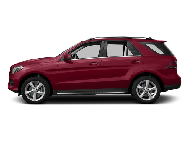 designo Cardinal Red Metallic 2017 Mercedes-Benz GLE Pictures GLE Utility 4D GLE300 AWD I4 Diesel photos side view