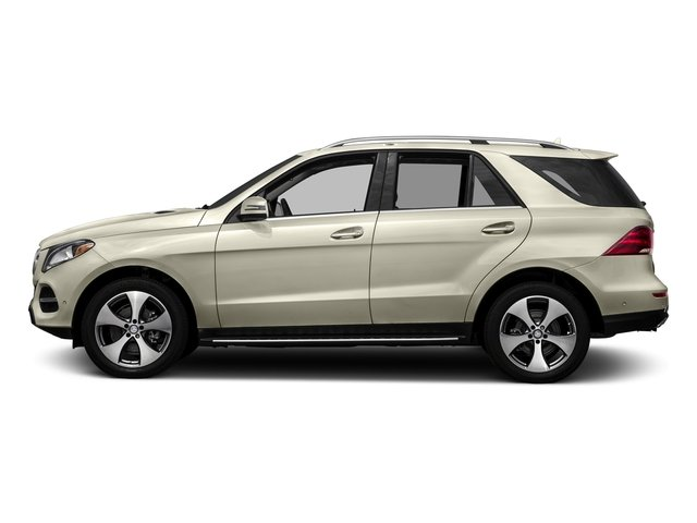 designo Diamond White Metallic 2017 Mercedes-Benz GLE Pictures GLE Utility 4D GLE350 2WD V6 photos side view