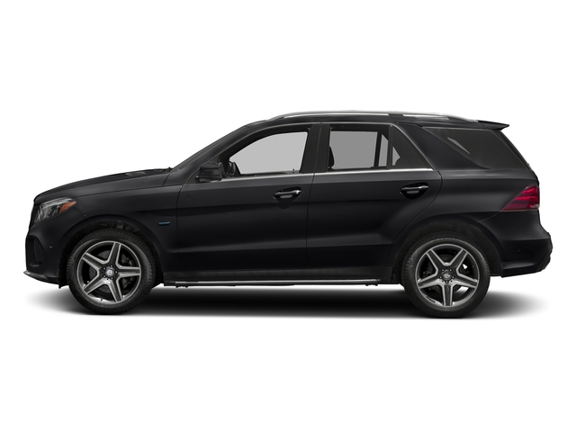 Black 2017 Mercedes-Benz GLE Pictures GLE Utility 4D GLE550 Plug-In AWD V6 photos side view