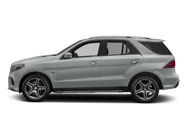Iridium Silver Metallic 2017 Mercedes-Benz GLE Pictures GLE Utility 4D GLE550 Plug-In AWD V6 photos side view