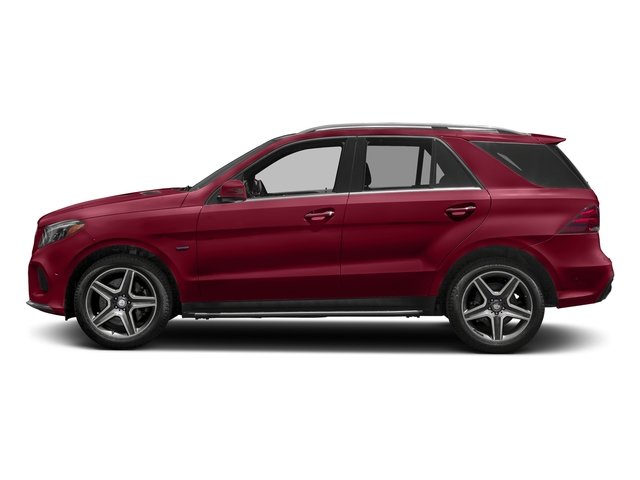 designo Cardinal Red Metallic 2017 Mercedes-Benz GLE Pictures GLE Utility 4D GLE550 Plug-In AWD V6 photos side view