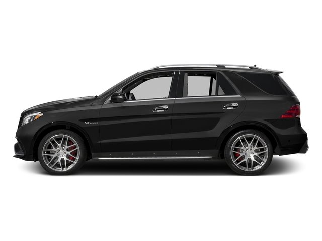 Obsidian Black Metallic 2017 Mercedes-Benz GLE Pictures GLE AMG GLE 63 4MATIC SUV photos side view