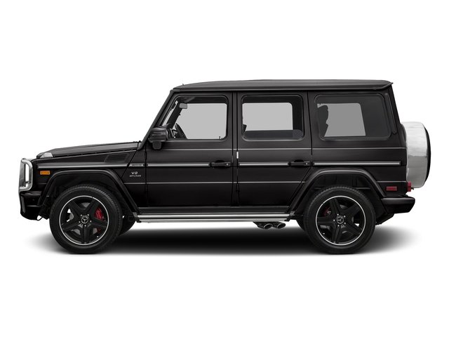 designo Mocha Black 2017 Mercedes-Benz G-Class Pictures G-Class AMG G 63 4MATIC SUV photos side view