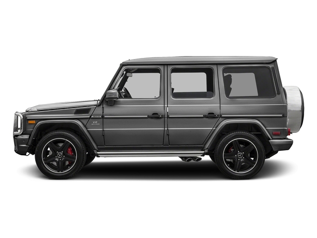 designo Graphite 2017 Mercedes-Benz G-Class Pictures G-Class AMG G 63 4MATIC SUV photos side view