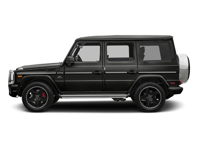 designo Magno Night Black (Matte Finish) 2017 Mercedes-Benz G-Class Pictures G-Class AMG G 63 4MATIC SUV photos side view