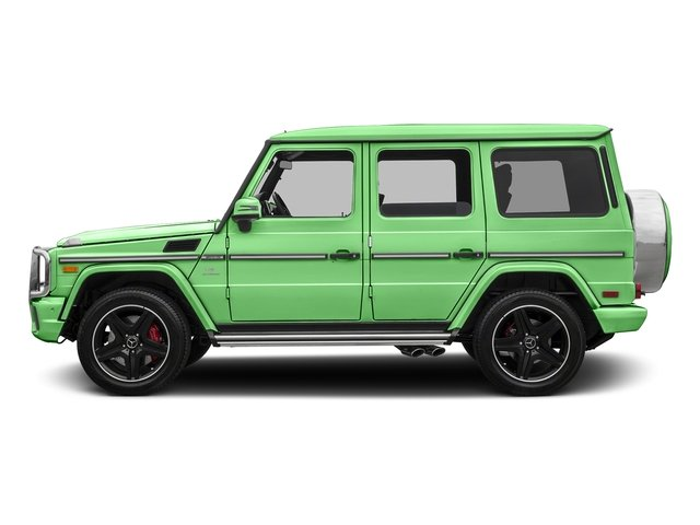 Alien Green 2017 Mercedes-Benz G-Class Pictures G-Class AMG G 63 4MATIC SUV photos side view