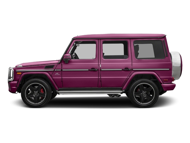 Galaticbeam 2017 Mercedes-Benz G-Class Pictures G-Class AMG G 63 4MATIC SUV photos side view