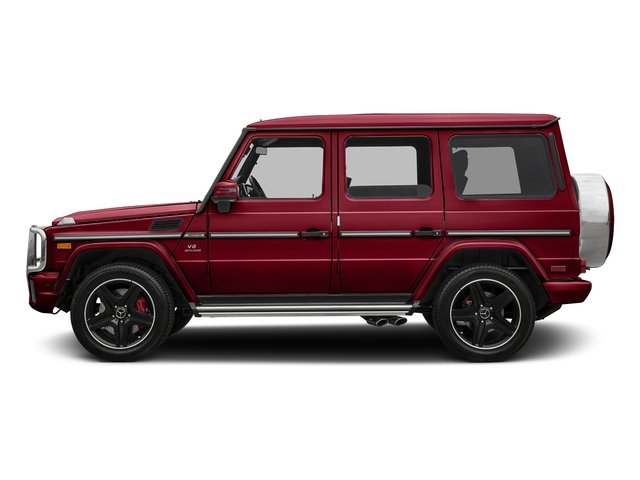 Mars Red 2017 Mercedes-Benz G-Class Pictures G-Class AMG G 63 4MATIC SUV photos side view