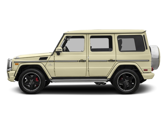 Light Ivory 2017 Mercedes-Benz G-Class Pictures G-Class AMG G 63 4MATIC SUV photos side view