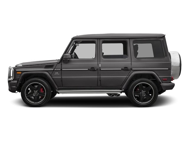 Tectite Grey Metallic 2017 Mercedes-Benz G-Class Pictures G-Class AMG G 63 4MATIC SUV photos side view