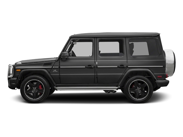 Steel Grey Metallic 2017 Mercedes-Benz G-Class Pictures G-Class AMG G 63 4MATIC SUV photos side view