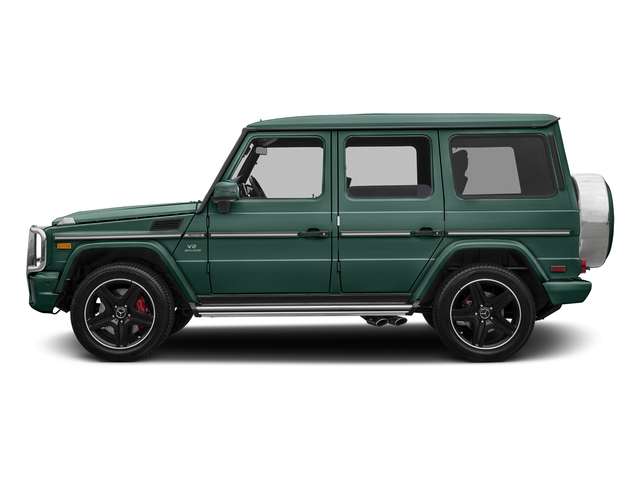 Agate Green 2017 Mercedes-Benz G-Class Pictures G-Class AMG G 63 4MATIC SUV photos side view