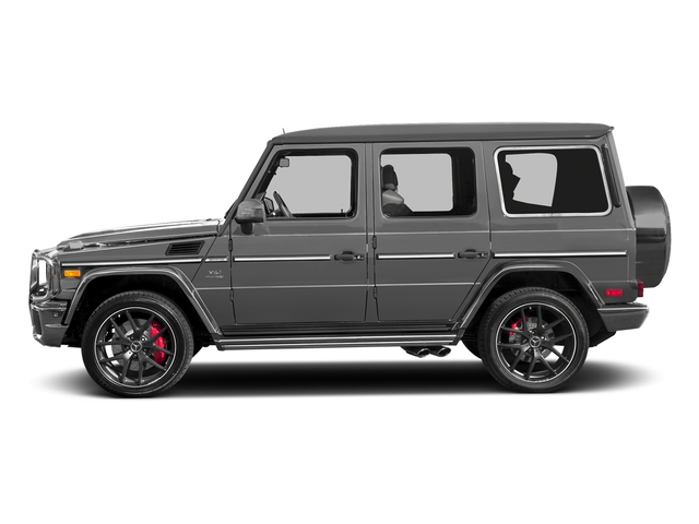 designo Monza Grey Magno (Matte Finish) 2017 Mercedes-Benz G-Class Pictures G-Class 4 Door Utility 4Matic photos side view