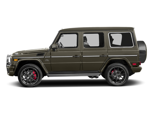 Indium Grey Metallic 2017 Mercedes-Benz G-Class Pictures G-Class AMG G 65 4MATIC SUV photos side view