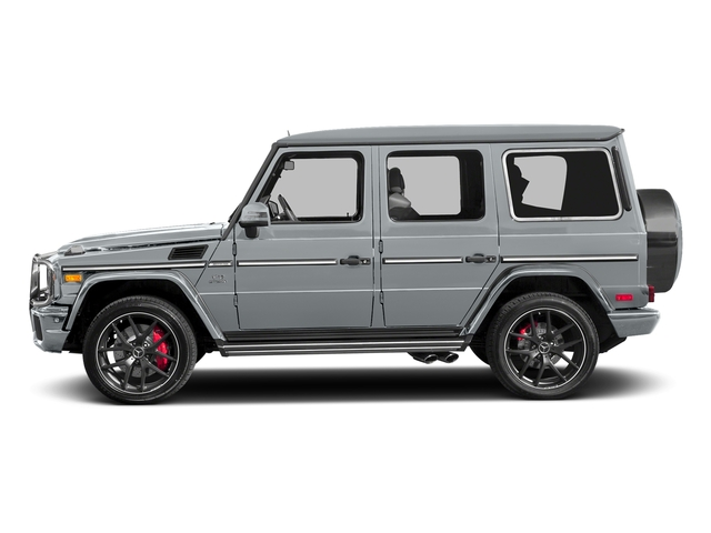 Diamond Silver Metallic 2017 Mercedes-Benz G-Class Pictures G-Class AMG G 65 4MATIC SUV photos side view