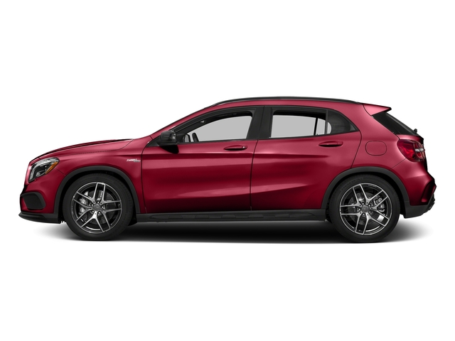 Jupiter Red 2017 Mercedes-Benz GLA Pictures GLA AMG GLA 45 4MATIC SUV photos side view