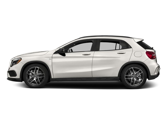Cirrus White 2017 Mercedes-Benz GLA Pictures GLA AMG GLA 45 4MATIC SUV photos side view