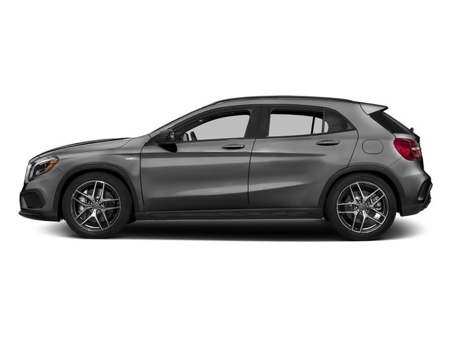 designo Mountain Grey Magno (Matte Finish) 2017 Mercedes-Benz GLA Pictures GLA Utility 4D GLA45 AMG AWD I4 Turbo photos side view