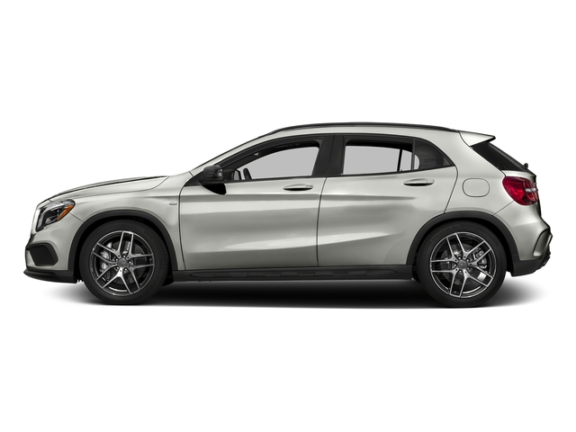 Polar Silver Metallic 2017 Mercedes-Benz GLA Pictures GLA Utility 4D GLA45 AMG AWD I4 Turbo photos side view