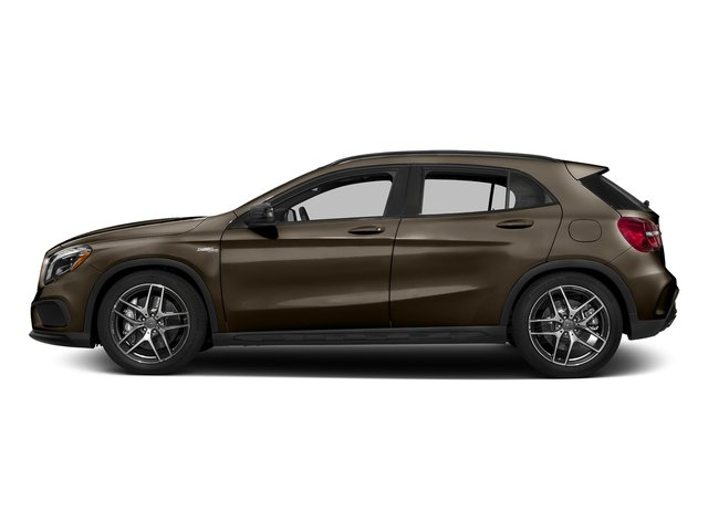 Cocoa Brown Metallic 2017 Mercedes-Benz GLA Pictures GLA AMG GLA 45 4MATIC SUV photos side view