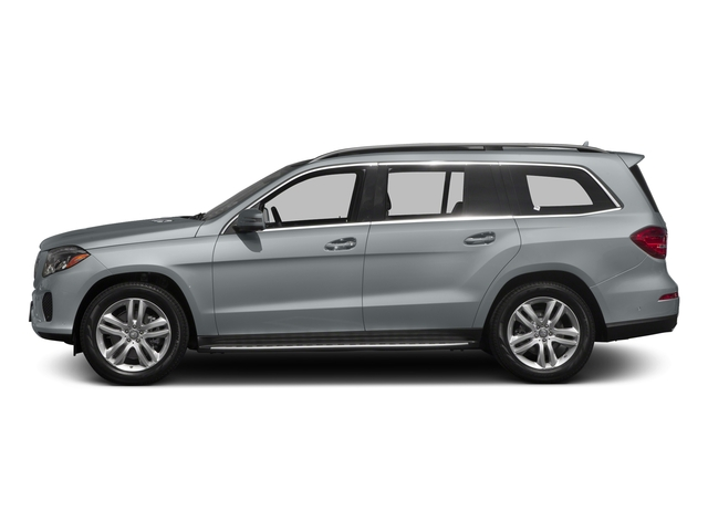 Diamond Silver Metallic 2017 Mercedes-Benz GLS Pictures GLS Utility 4D GLS450 AWD V6 Turbo photos side view