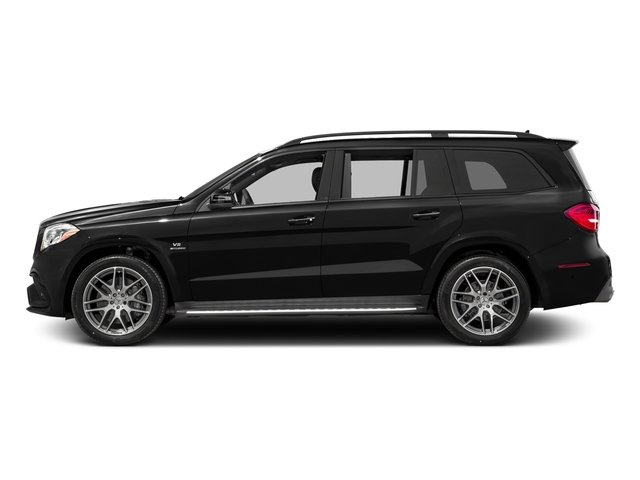 Obsidian Black Metallic 2017 Mercedes-Benz GLS Pictures GLS Utility 4D GLS63 AMG AWD V8 Turbo photos side view