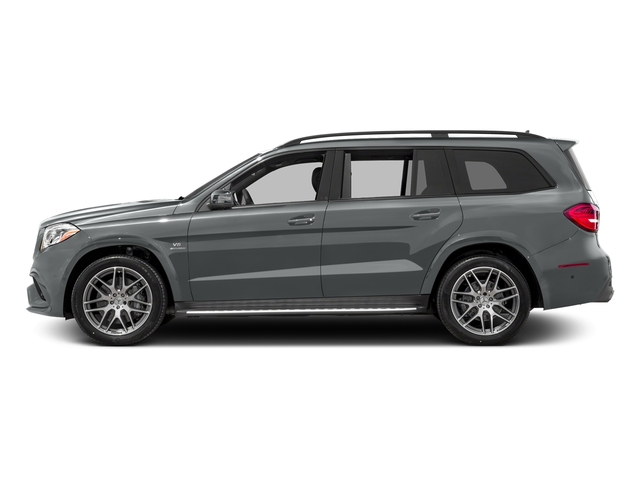 Iridium Silver Metallic 2017 Mercedes-Benz GLS Pictures GLS Utility 4D GLS63 AMG AWD V8 Turbo photos side view