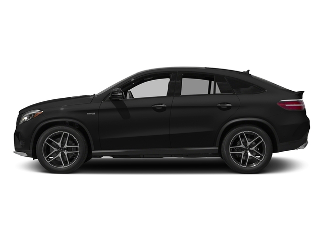 Obsidian Black Metallic 2017 Mercedes-Benz GLE Pictures GLE Utility 4D GLE43 AMG Sport Cpoe AWD photos side view