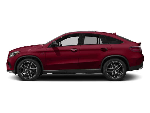 designo Cardinal Red Metallic 2017 Mercedes-Benz GLE Pictures GLE Utility 4D GLE43 AMG Sport Cpoe AWD photos side view