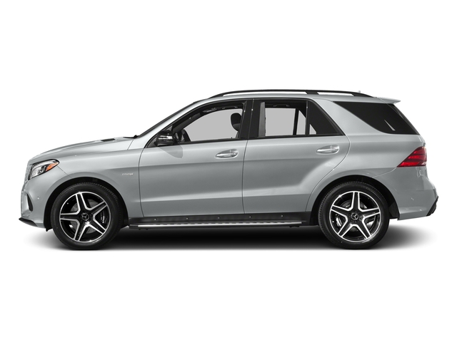 Iridium Silver Metallic 2017 Mercedes-Benz GLE Pictures GLE AMG GLE 43 4MATIC SUV photos side view