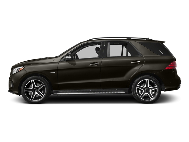 Dakota Brown Metallic 2017 Mercedes-Benz GLE Pictures GLE AMG GLE 43 4MATIC SUV photos side view