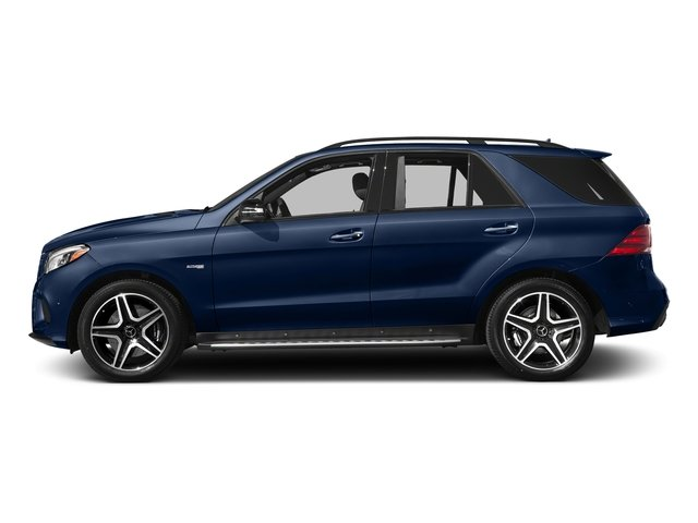 Brilliant Blue Metallic 2017 Mercedes-Benz GLE Pictures GLE AMG GLE 43 4MATIC SUV photos side view