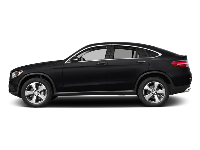 Black 2017 Mercedes-Benz GLC Pictures GLC GLC 300 4MATIC Coupe photos side view