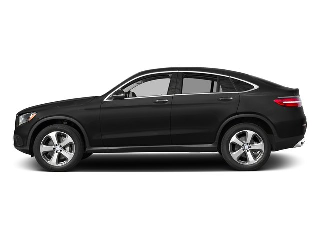 Obsidian Black Metallic 2017 Mercedes-Benz GLC Pictures GLC Util 4D GLC300 Sport Coupe AWD I4 photos side view