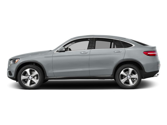 Diamond Silver Metallic 2017 Mercedes-Benz GLC Pictures GLC GLC 300 4MATIC Coupe photos side view
