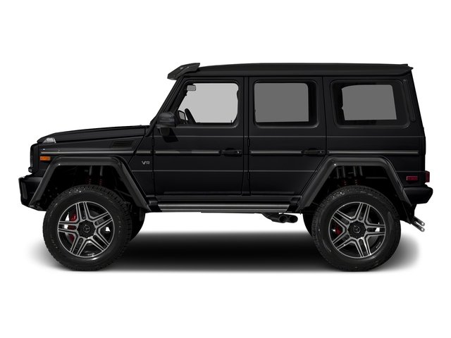 Black 2017 Mercedes-Benz G-Class Pictures G-Class G 550 4x4 Squared SUV photos side view