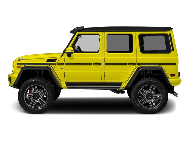 Electric Beam 2017 Mercedes-Benz G-Class Pictures G-Class G 550 4x4 Squared SUV photos side view