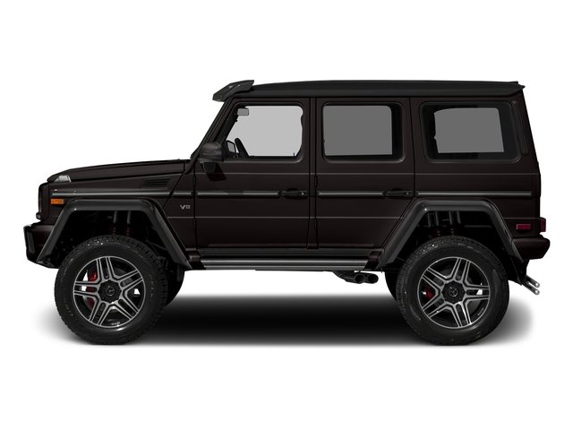 Desert Sand 2017 Mercedes-Benz G-Class Pictures G-Class G 550 4x4 Squared SUV photos side view