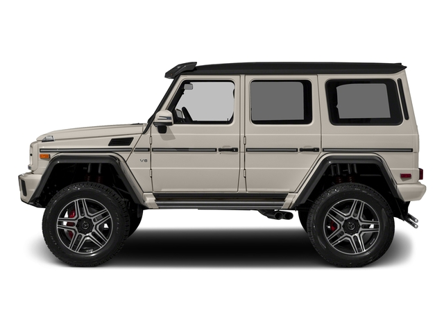 Desert Silver 2017 Mercedes-Benz G-Class Pictures G-Class G 550 4x4 Squared SUV photos side view