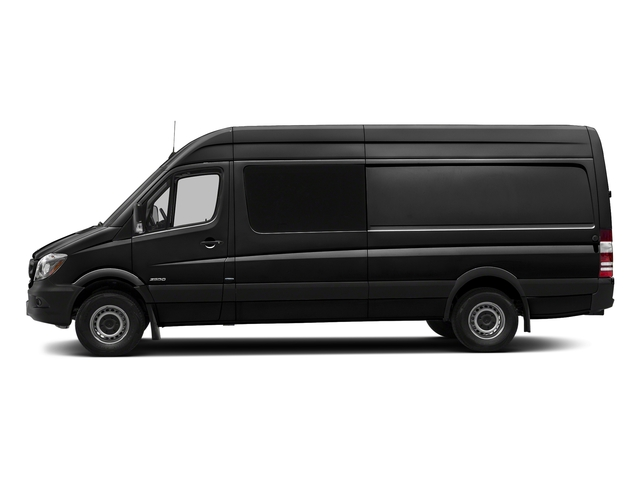 Obsidian Black Metallic 2017 Mercedes-Benz Sprinter Crew Van Pictures Sprinter Crew Van 2500 High Roof I4 170 RWD photos side view