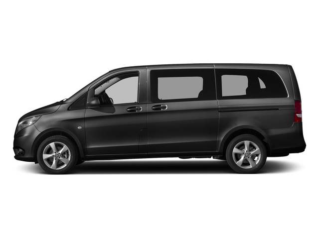 Obsidian Black Metallic 2017 Mercedes-Benz Metris Passenger Van Pictures Metris Passenger Van Passenger Van photos side view