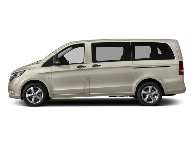 Flint Gray Metallic 2017 Mercedes-Benz Metris Passenger Van Pictures Metris Passenger Van Passenger Van photos side view