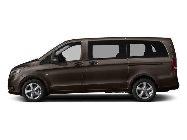 Dolomite Brown Metallic 2017 Mercedes-Benz Metris Passenger Van Pictures Metris Passenger Van Passenger Van photos side view