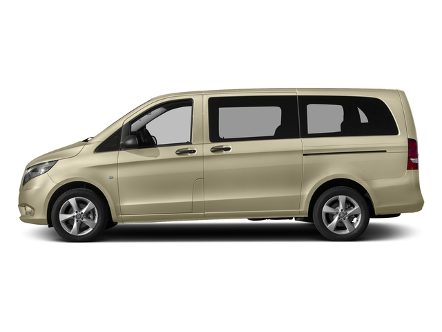 Pebble Gray 2017 Mercedes-Benz Metris Passenger Van Pictures Metris Passenger Van Passenger Van photos side view