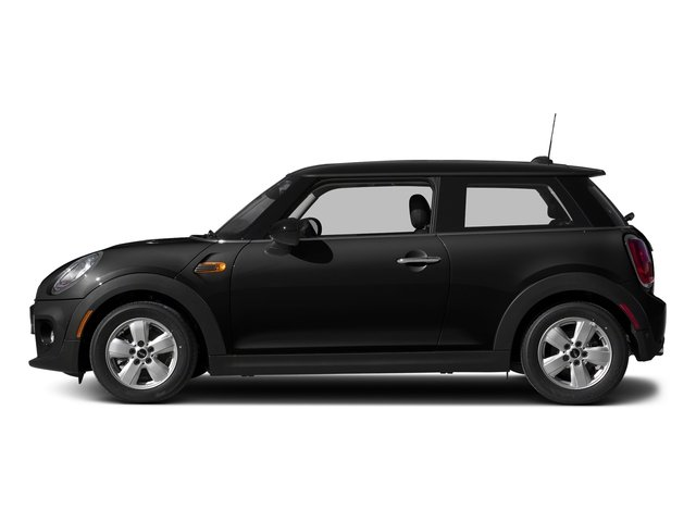 Midnight Black Metallic 2017 MINI Hardtop 2 Door Pictures Hardtop 2 Door Cooper FWD photos side view